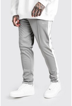 Charcoal Original MAN Tricot Jogger With Side Tape