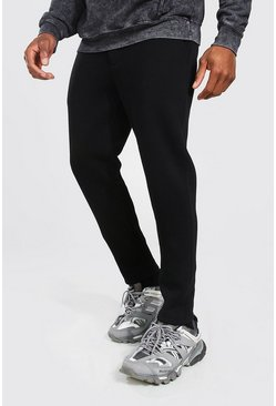 Black Tapered Jogger
