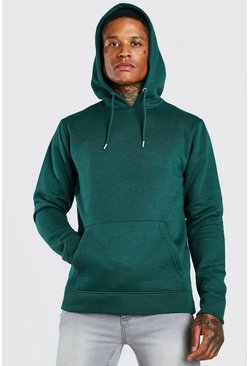 Official MAN Back Print Hoodie, Forest