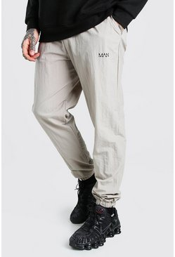 Stone Original MAN Crinkle Bungee Cord Jogger Trouser