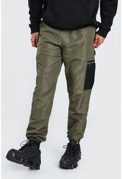 Original MAN Shell Cargo Trouser With Mesh Pockets, Khaki