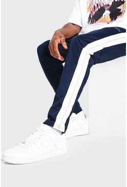 Original MAN Tricot Jogger With Tape, Navy