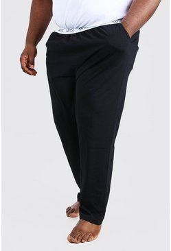 Black Plus Size MAN Dash Waistband Lounge Pant