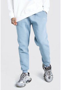 Light grey Loose Fit Heavyweight MAN Overdyed Jogger