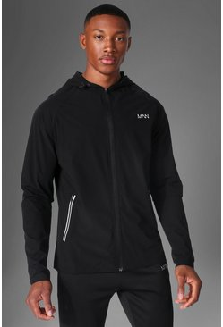 Black Man Active Windbreaker