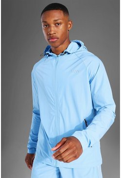 Pastel blue Man Active Windbreaker