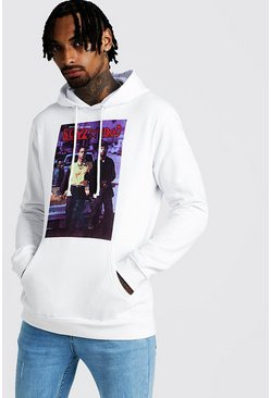 Sweat à capuche Boyz In The Hood, Blanc, Homme