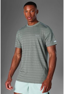 Sage Man Active Textured T Shirt