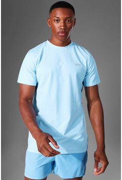 Light blue Man Active Luxe T Shirt
