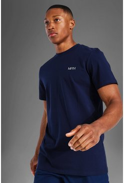 Navy Man Active Luxe T Shirt