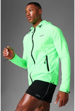 Neon Man Active Nylon Translucent Windbreaker