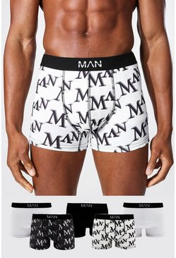 Multi 5 Pack Man Dash Mixed Trunk