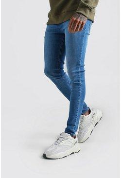 Mid blue Spray On Skinny Jean
