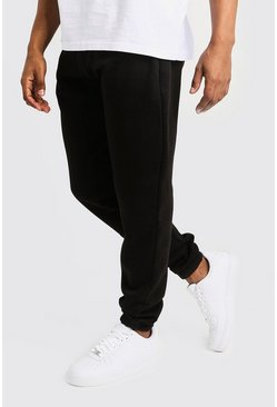 Basic Loose Fit Jogger, Black, HOMMES