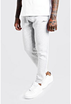 Grey MAN Signature Skinny Fit Jogger