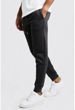 Mens Charcoal Slim Fit Joggers