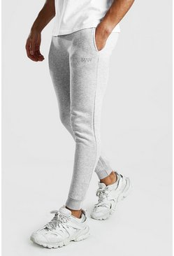 Grey MAN Dash Super Skinny Joggers