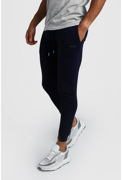 Navy MAN Dash Super Skinny Joggers