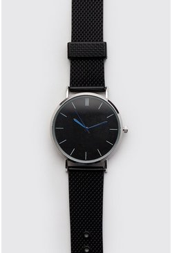 Mens All Black Classic Watch