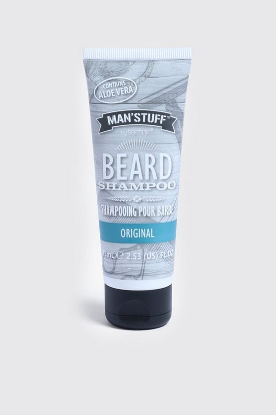 Shampooing à barbe MAN Stuff, Transparent, Homme