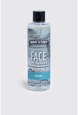 Mens Clear MAN Stuff Face Wash