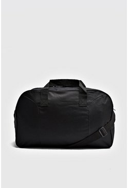 Mens Black Basic Holdall