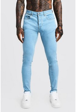 Pale blue Skinny Fit Denim Jeans