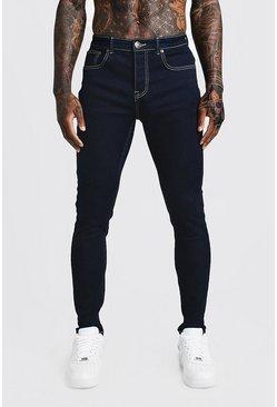 Indigo Skinny Fit Denim Jeans
