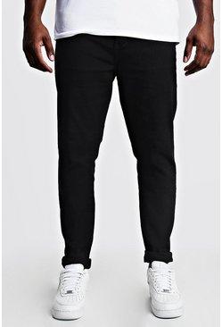 Black Big & Tall Skinny Fit Jeans