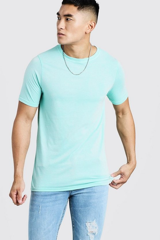 Mens Mint Crew Neck T-Shirt