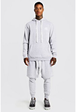 Jogging coupe slim MAN Aesthetics, Gris, Homme
