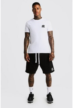 Black MAN Aesthetics Loose Fit Short