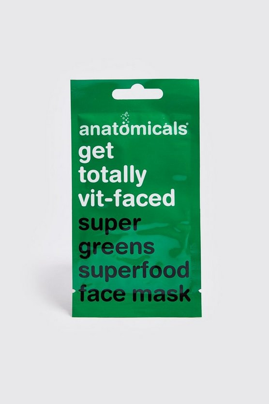 Masque visage Super Green Superfood, Vert, Homme