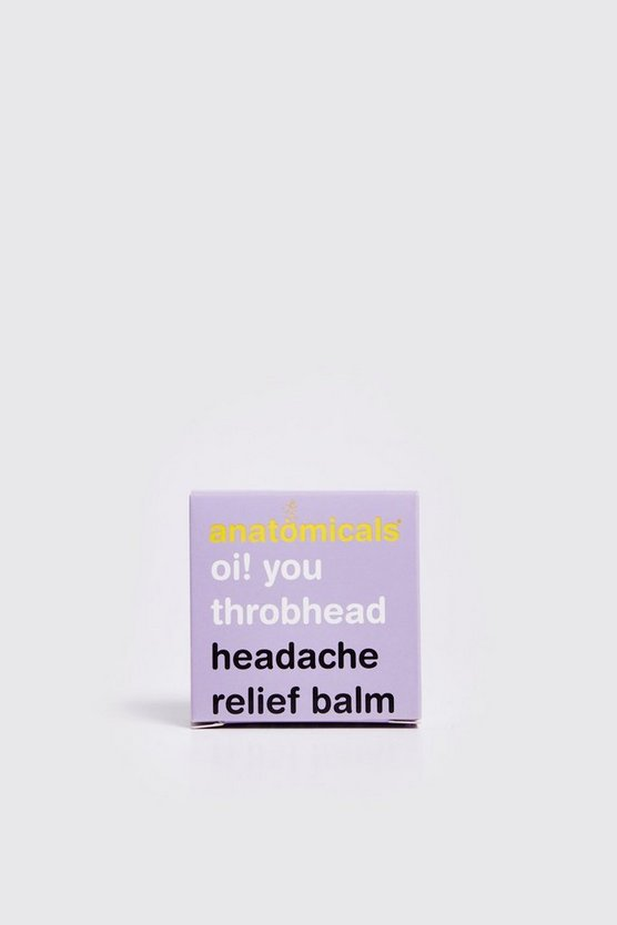 Mens Clear Headache Relief Balm