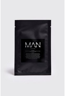 Mens Clear MAN Rose Sheet Face Mask