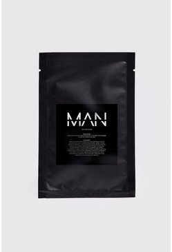Mens Clear MAN Peptide Sheet Face Mask