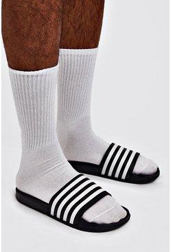 Black Stripe Slider