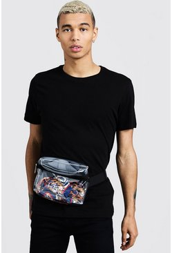 Mens Clear Perspex Bumbag