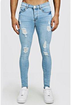 bf4076bd5f967 Spray On Skinny Jeans In Used-Optik