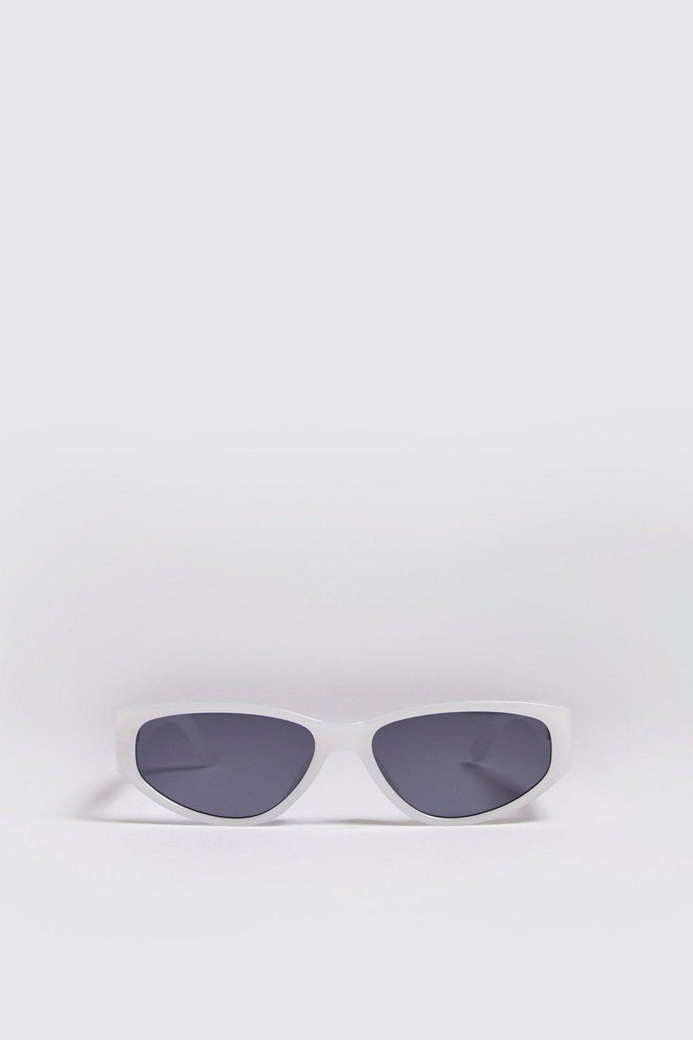 4be0ad420d48 Schmale Sonnenbrille aus Acetat