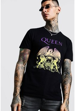 Black Queen Chest License T-Shirt