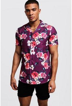670ee5c2 Mens Short Sleeve Shirts | Mens Summer Shirts - boohooMAN UK