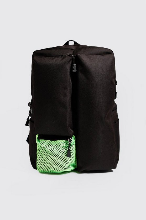 Black Neon Utility Backpack