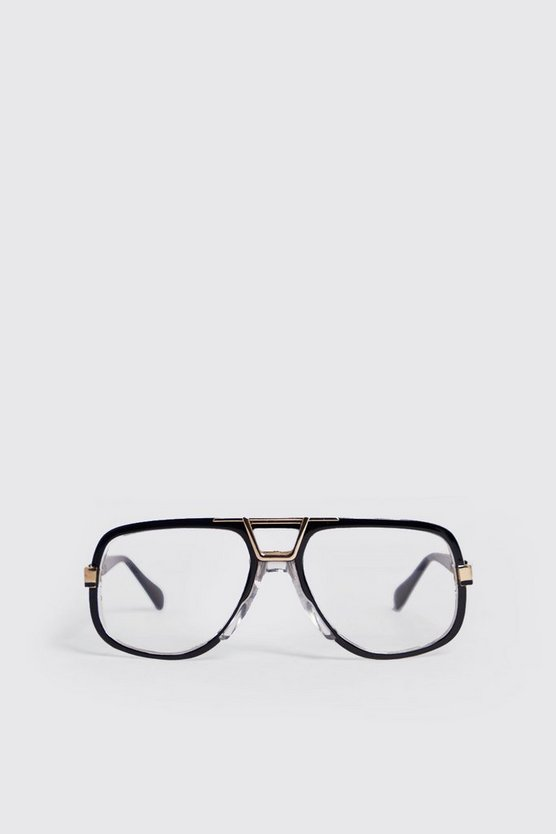 Gold Arch Vintage Look Fashion Glasses