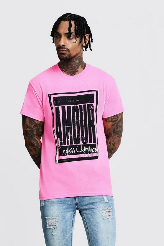 Amour Poster Print Tee