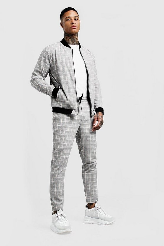 Smart Check Bomber Tracksuit