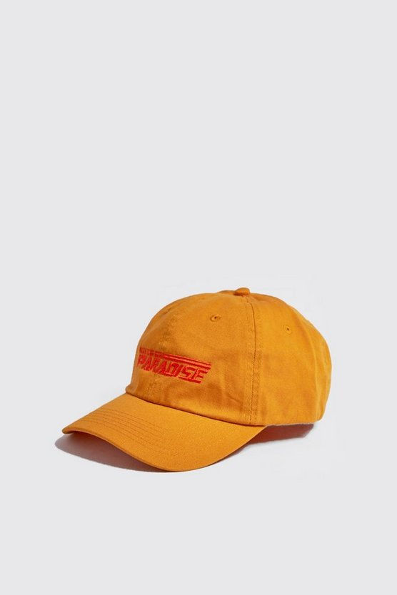 'PARADISE' Embroidered Cap