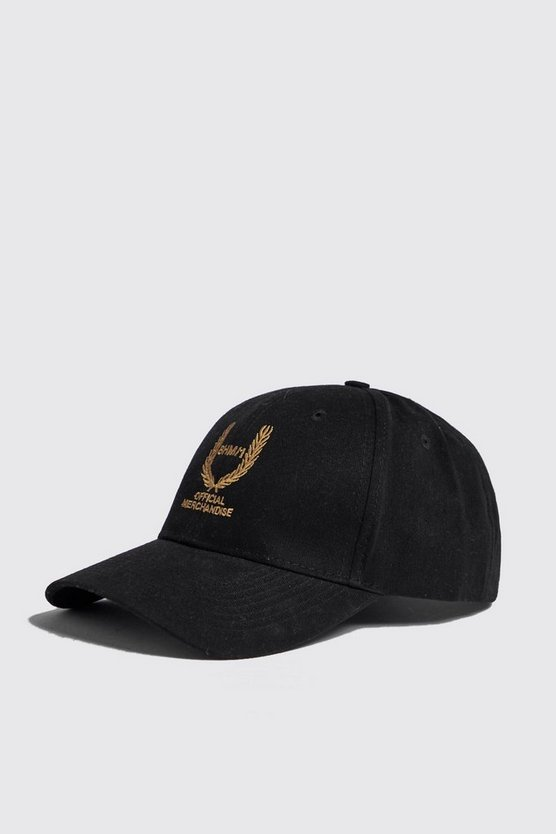 BHM Offical Gold Embroidered Cap