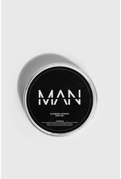 Mens Clear MAN Blueberry Scented Hair Gel