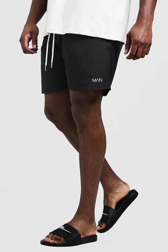 Big & Tall Original MAN Mid Length Swim Short